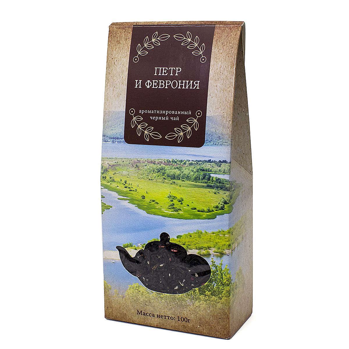 Чай черный Петр и Феврония, 100 г