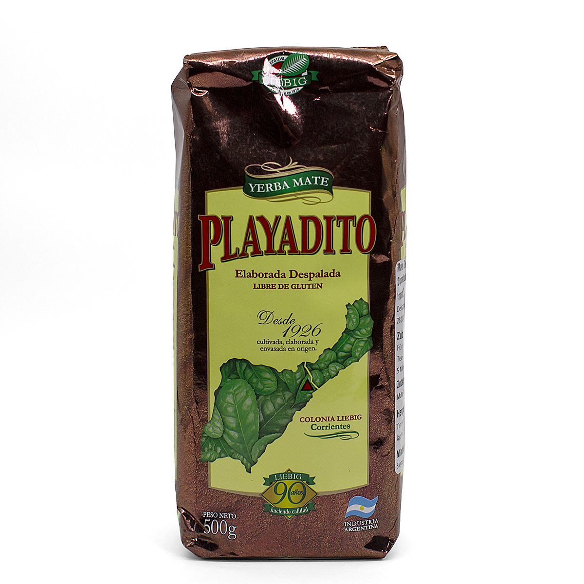 Мате Playadito Despalada, 500 г чай мате yerba mate playadito листовой 1000 г