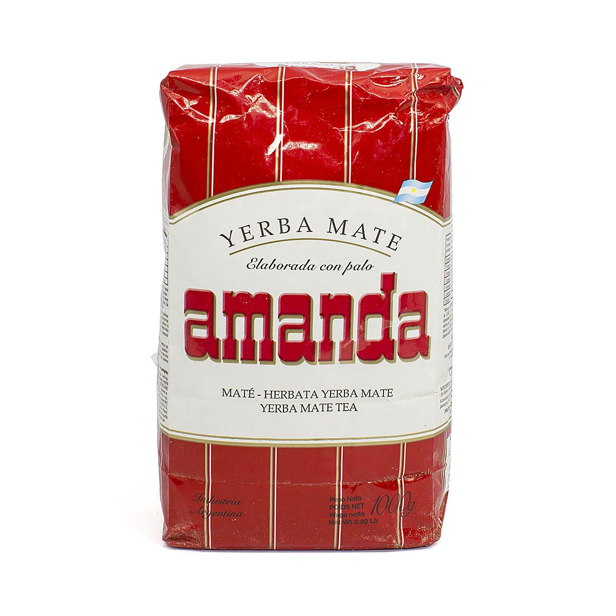 Мате Amanda Tradicional, 1000 г мате amanda tradicional pressed 250 г