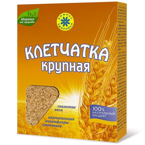 Клетчатка пшеничная крупная, 150 г от 101 Чай