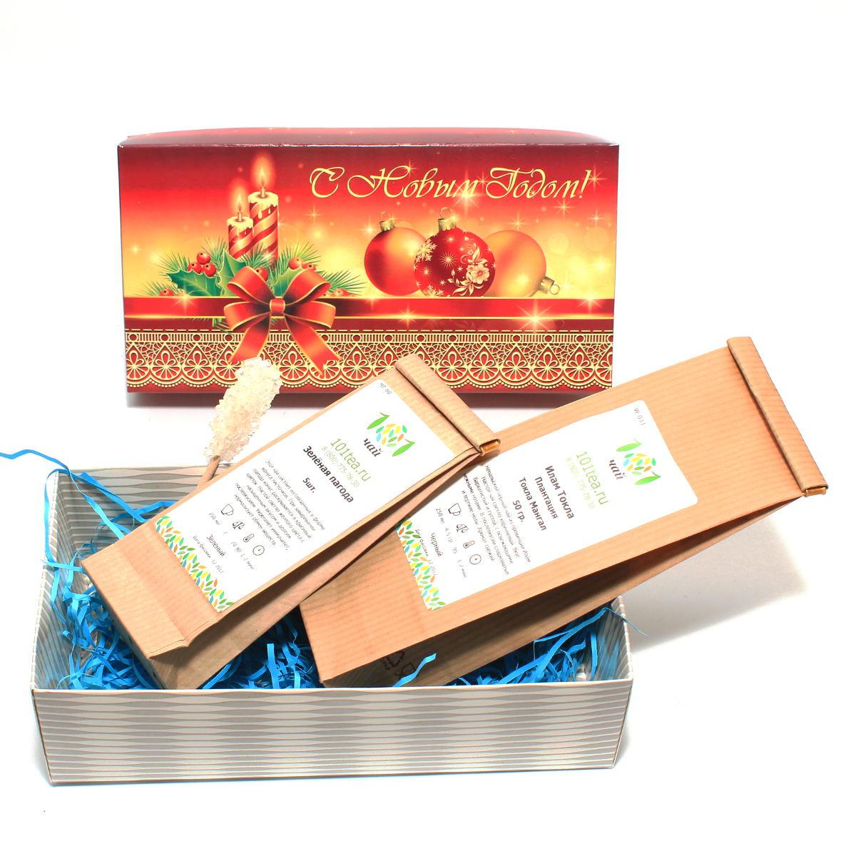 Новогодний подарочный набор №25 от 101 Чай