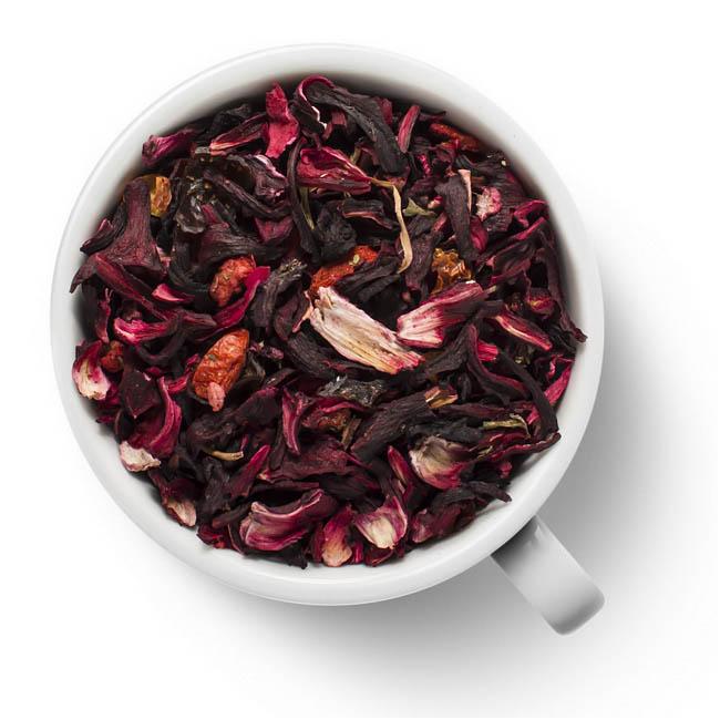 Фруктовый чайный напиток Ягодная фантазия от 101 Чай