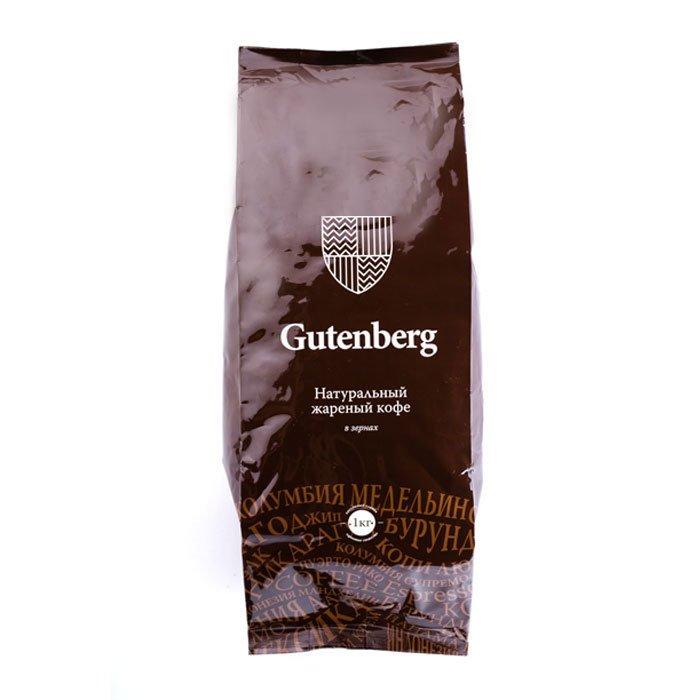 Кофе в зернах Бразилия Рио Минас, уп. 1 кг