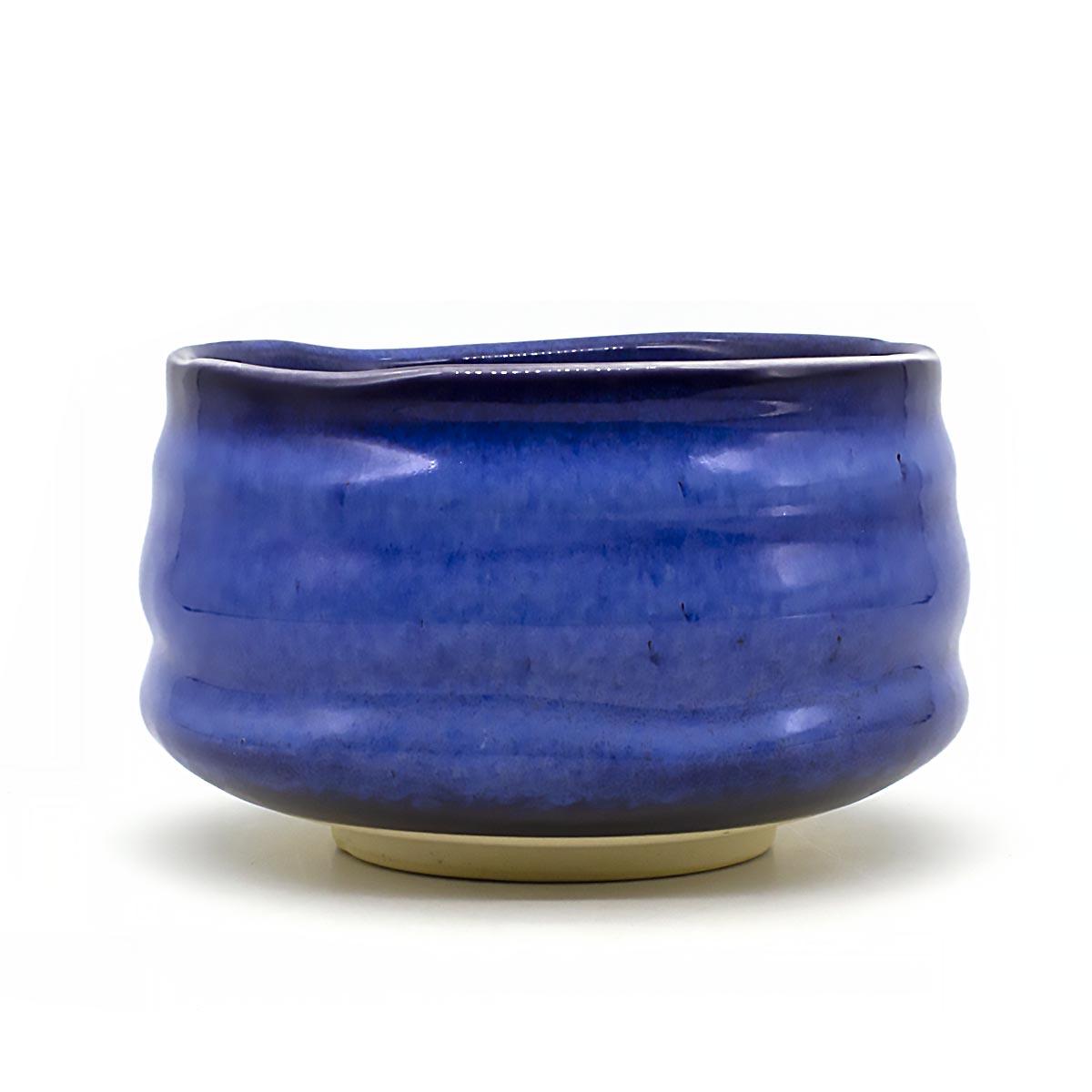 Чаша для матча керамическая, сапфировая, 500 мл чаша для матча керамическая голубая 500 мл