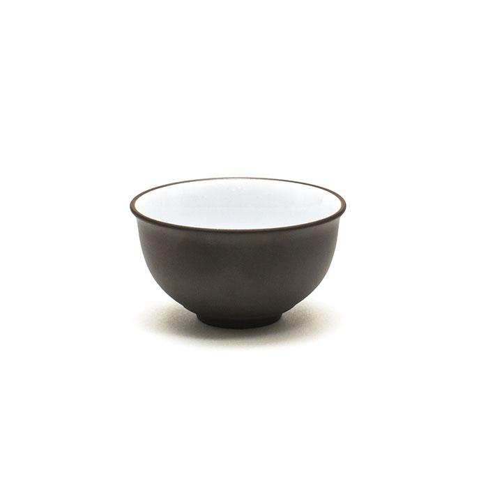 """Пиала эмалированная из исинской глины """"Бабочка"""", 80 мл (темная) от 101 Чай"""