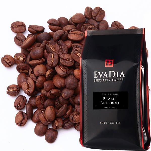 Кофе в зернах EvaDia Бразилия Бурбон, 500 г