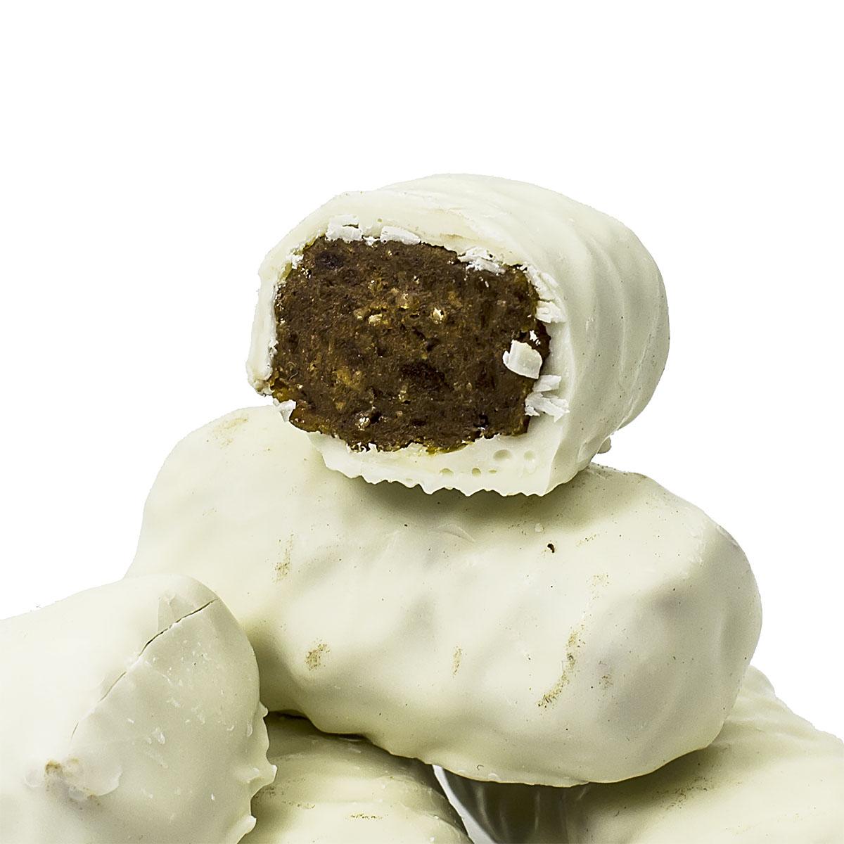 Банан в белой шоколадной глазури, 150 г kotanyi приправа сахар с какао с ароматом рома 45 г