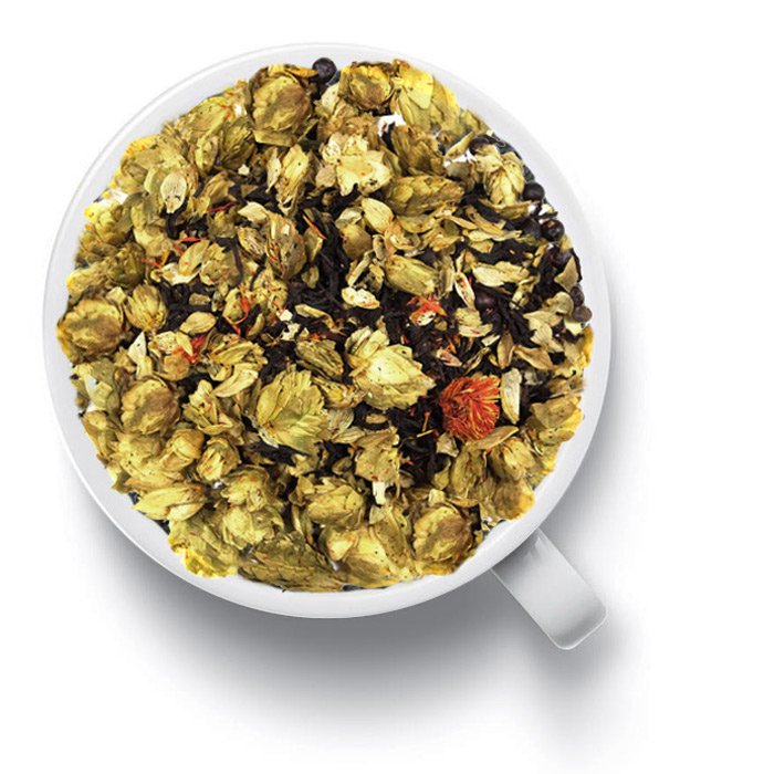 Черный ароматизированный чай Хмельной