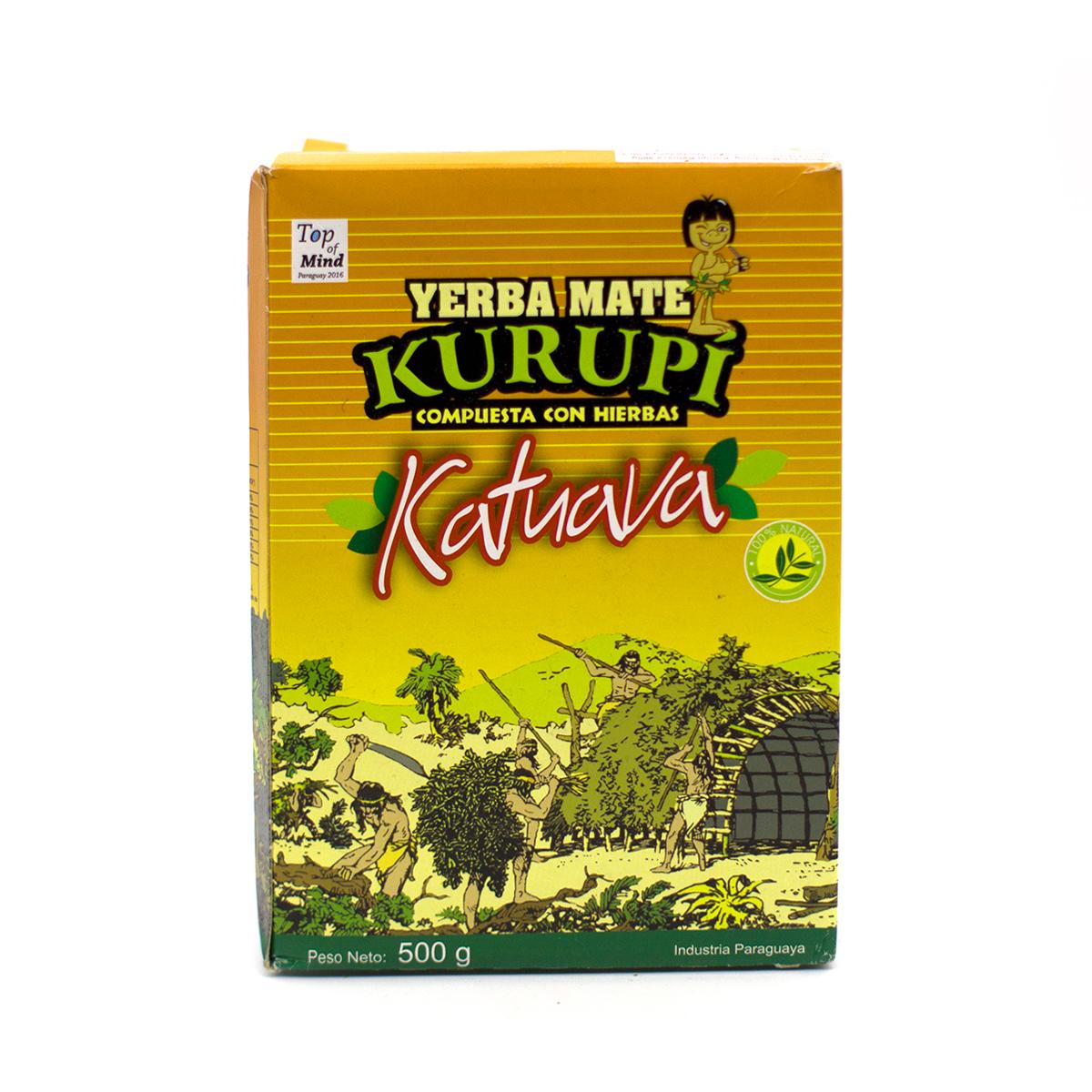 Купить со скидкой Мате Kurupi Katuava, 500 г
