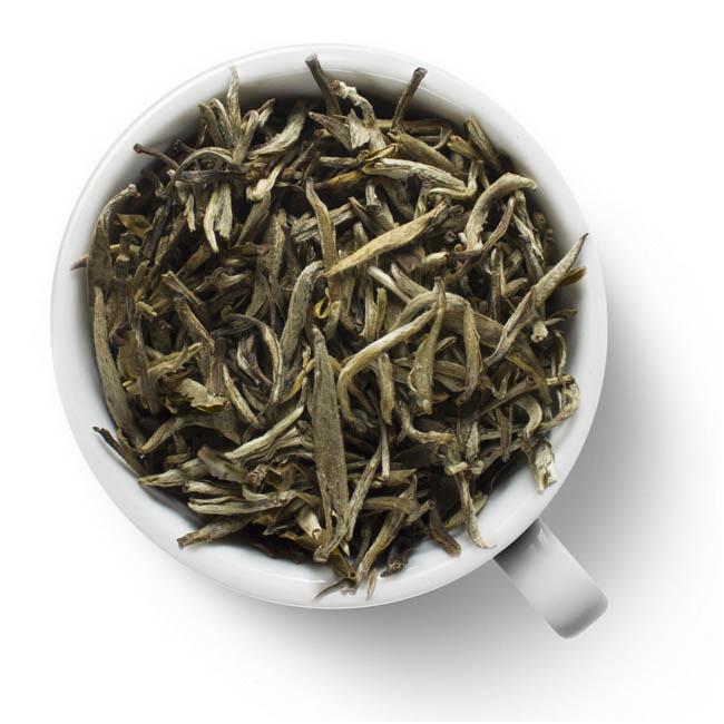 Чай белый Моли Бай Хао Инь Чжень (с жасмином)