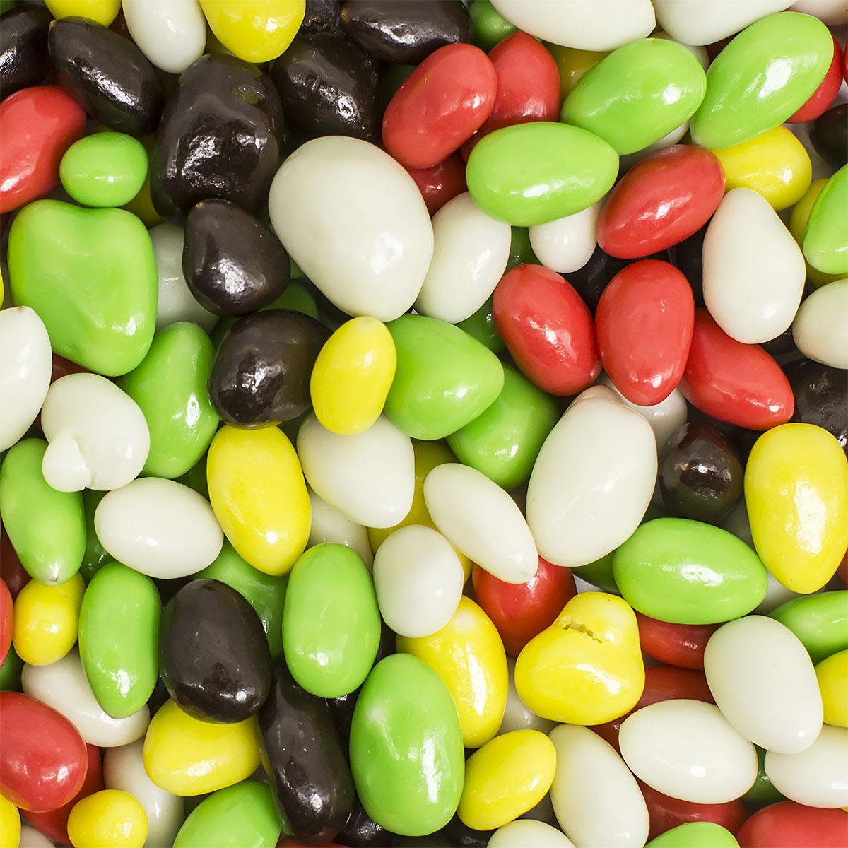 Семечки в цветной шоколадной глазури