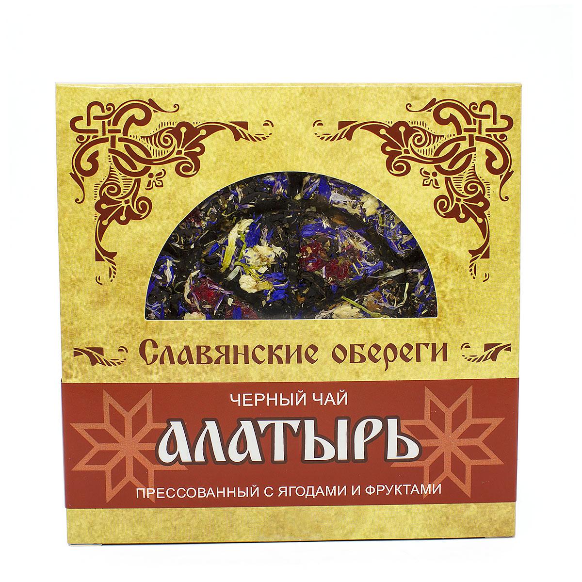 Фото - Чай чёрный Алатырь, прессованный, блин, 125 г чай чёрный вселенная прессованный блин 75 г