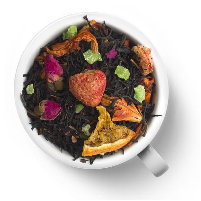 Черный ароматизированный чай Божественный нектар
