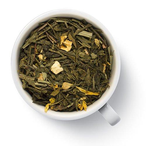 Чай зеленый с лимоном и имбирем