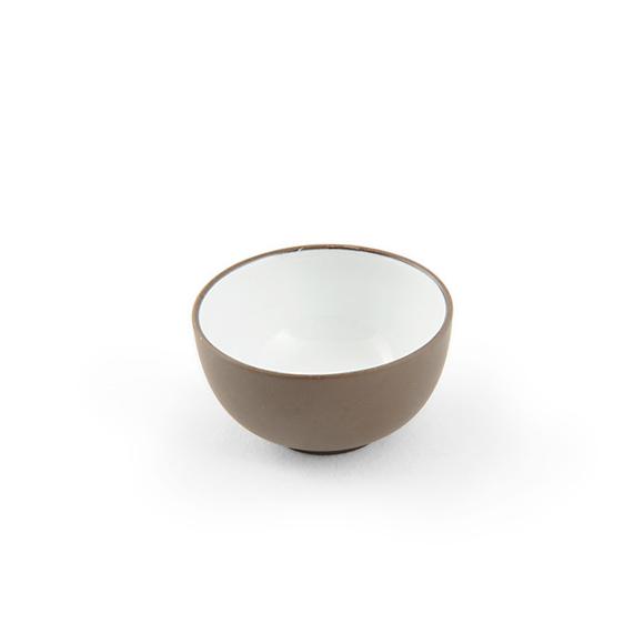 Пиала из исинской глины с эмалью