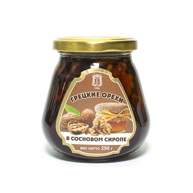 Варенье из грецких орехов в сосновом сиропе, 290 г