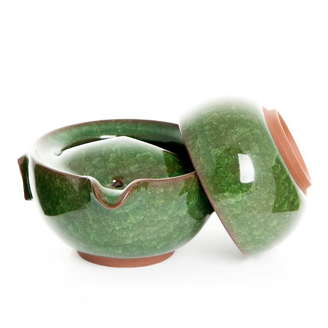 Гайвань с пиалой, колотый лед (зеленая), 100 мл от 101 Чай