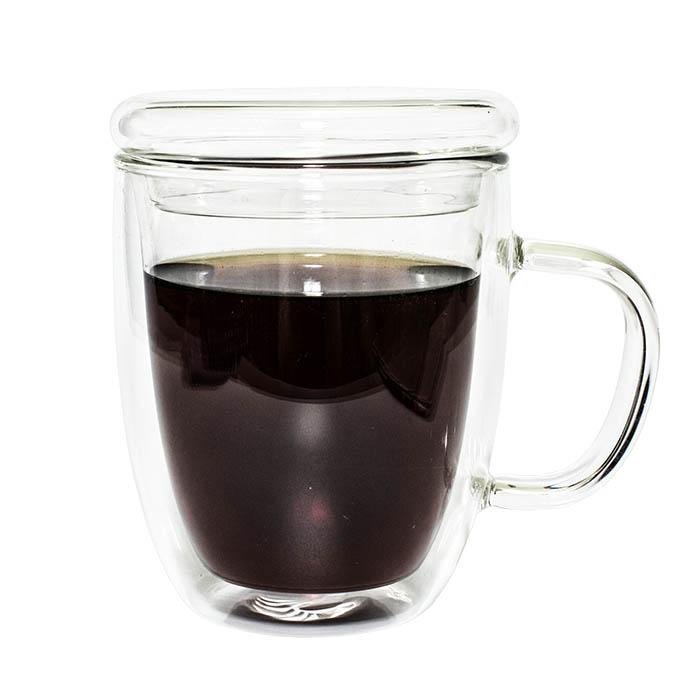Необжигающая чашка-термос с двойными стенками