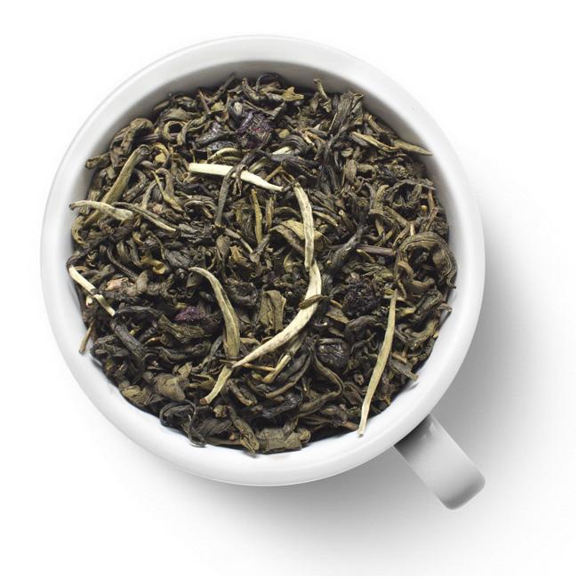Чай зеленый Японская вишня чай basilur чай basilur волшебные фрукты вишня и черешня 1 баночка