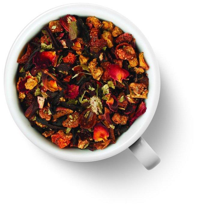 Фруктовый чайный напиток Клубничный пунш