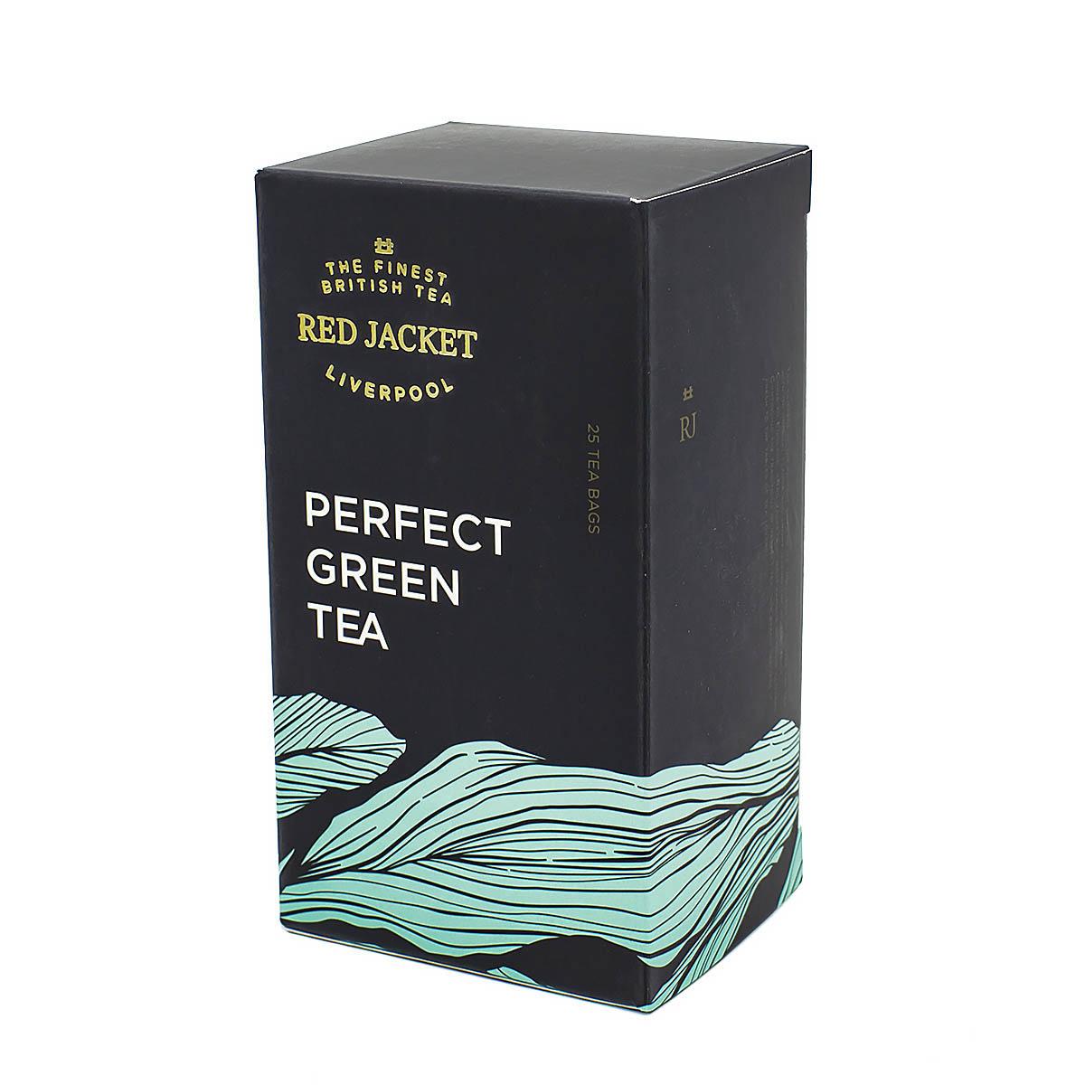 грин ти коллекшн чай зеленый китайский пакетированный двухкамерный с ярлычком 50 г Китайский зелёный чай Ред Джекет пакетированный, 25 шт х 2 г
