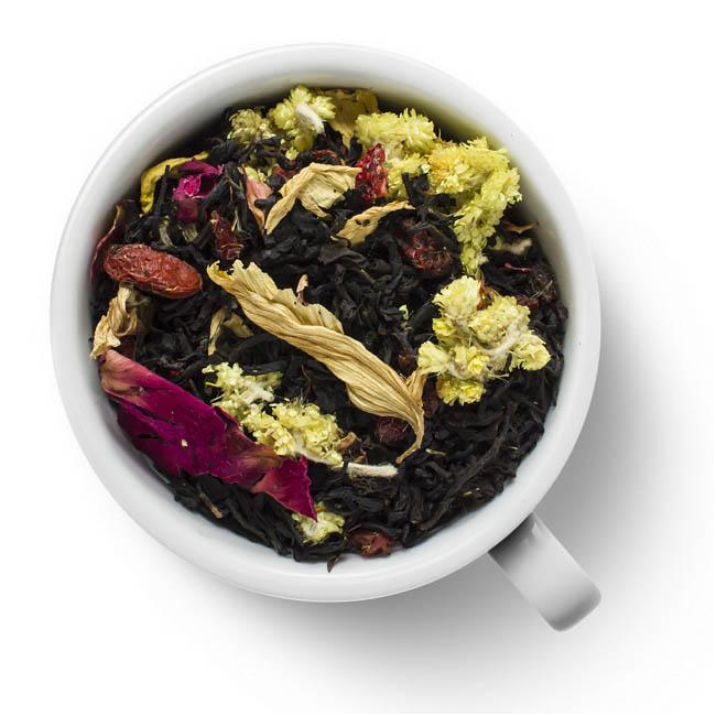 Черный ароматизированный чай Вкус ночи