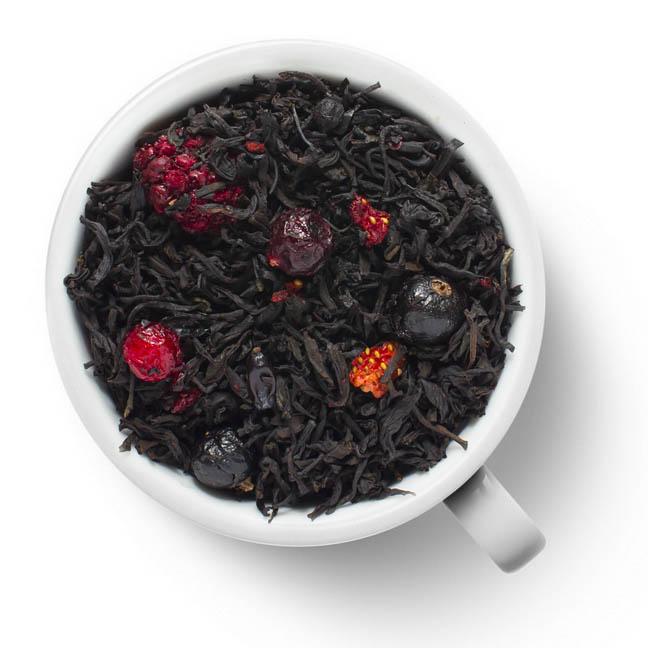 Черный ароматизированный чай Русский чай