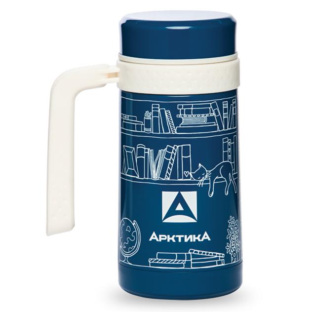 Термос-кружка вакуумная автомобильная Арктика 412-500 синяя, 500 мл pipedream pump worx fanta flesh pussy pump вакуумная помпа с мастурбатором