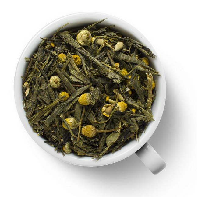 Зеленый ароматизированный чай Дикая ромашка eco-line