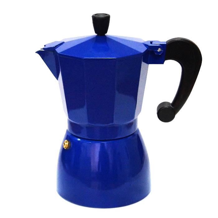 Гейзерная кофеварка синяя, 300 мл от 101 Чай