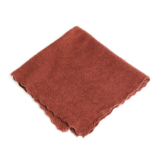 Полотенце для чайной церемонии (коричневое) 24 х 24 см