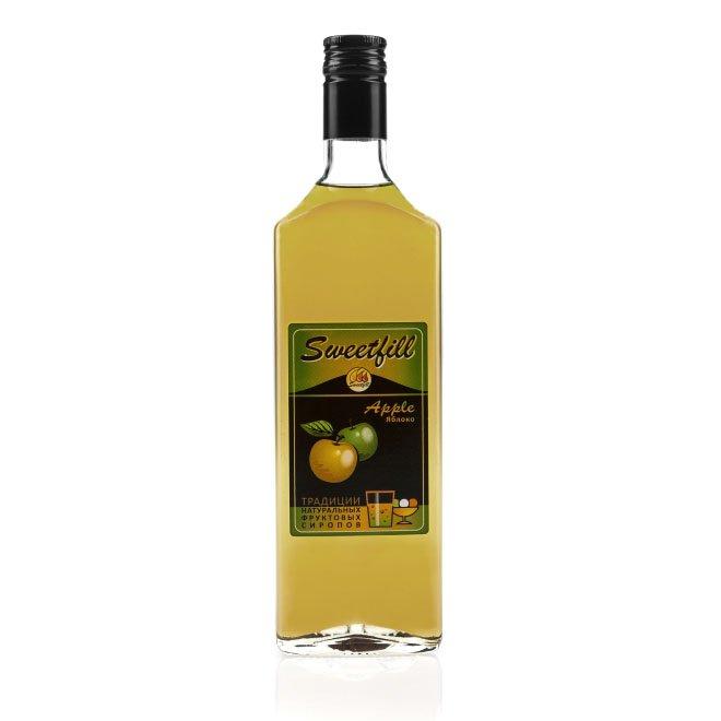 Сироп SweetFill Яблоко, 0,5 л vedrenne карамель сироп 0 7 л