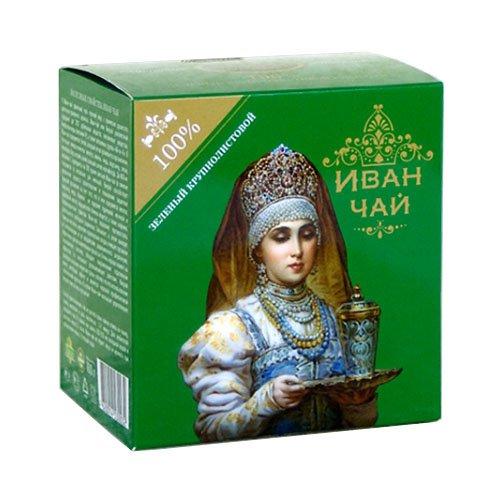 """Иван-чай """"Боярышня"""" зеленый крупнолистовой, 100 г"""