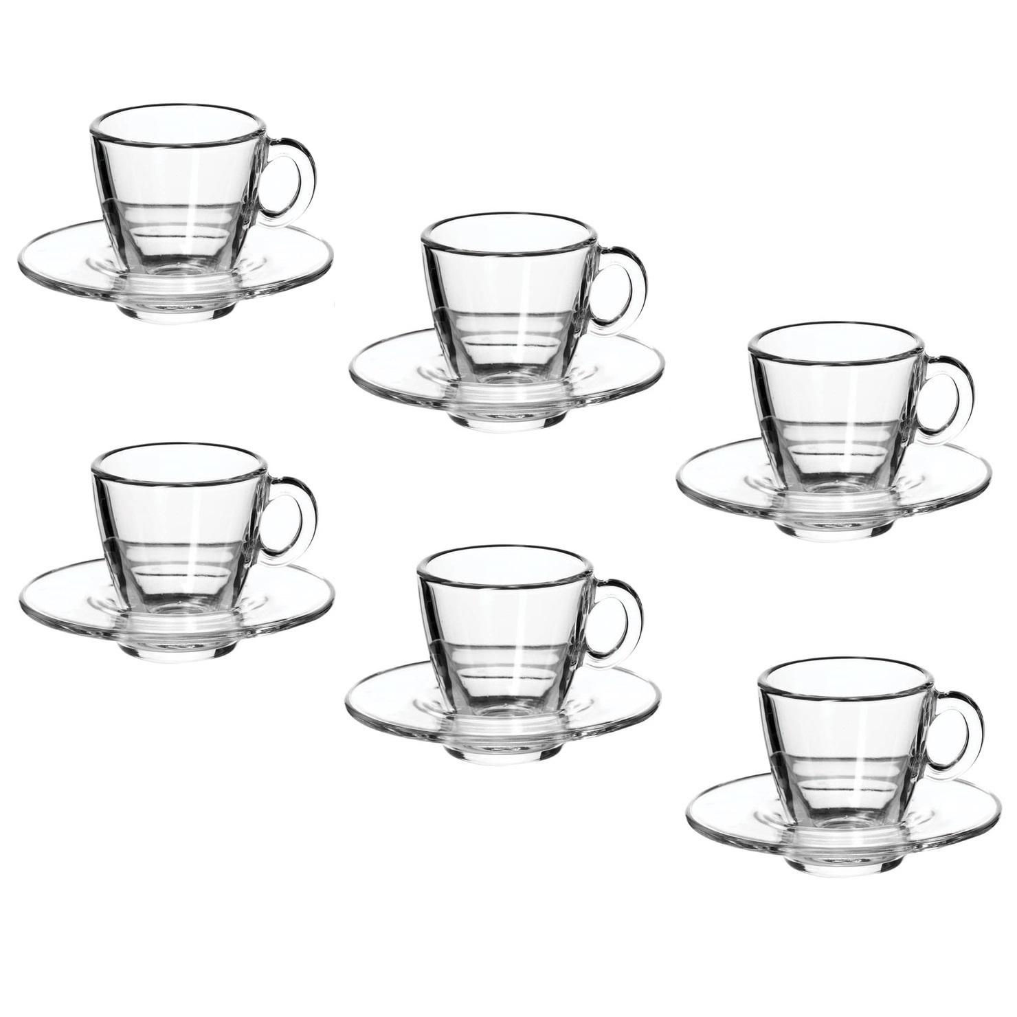Кофейный набор Aqua на 6 персон, 215 мл