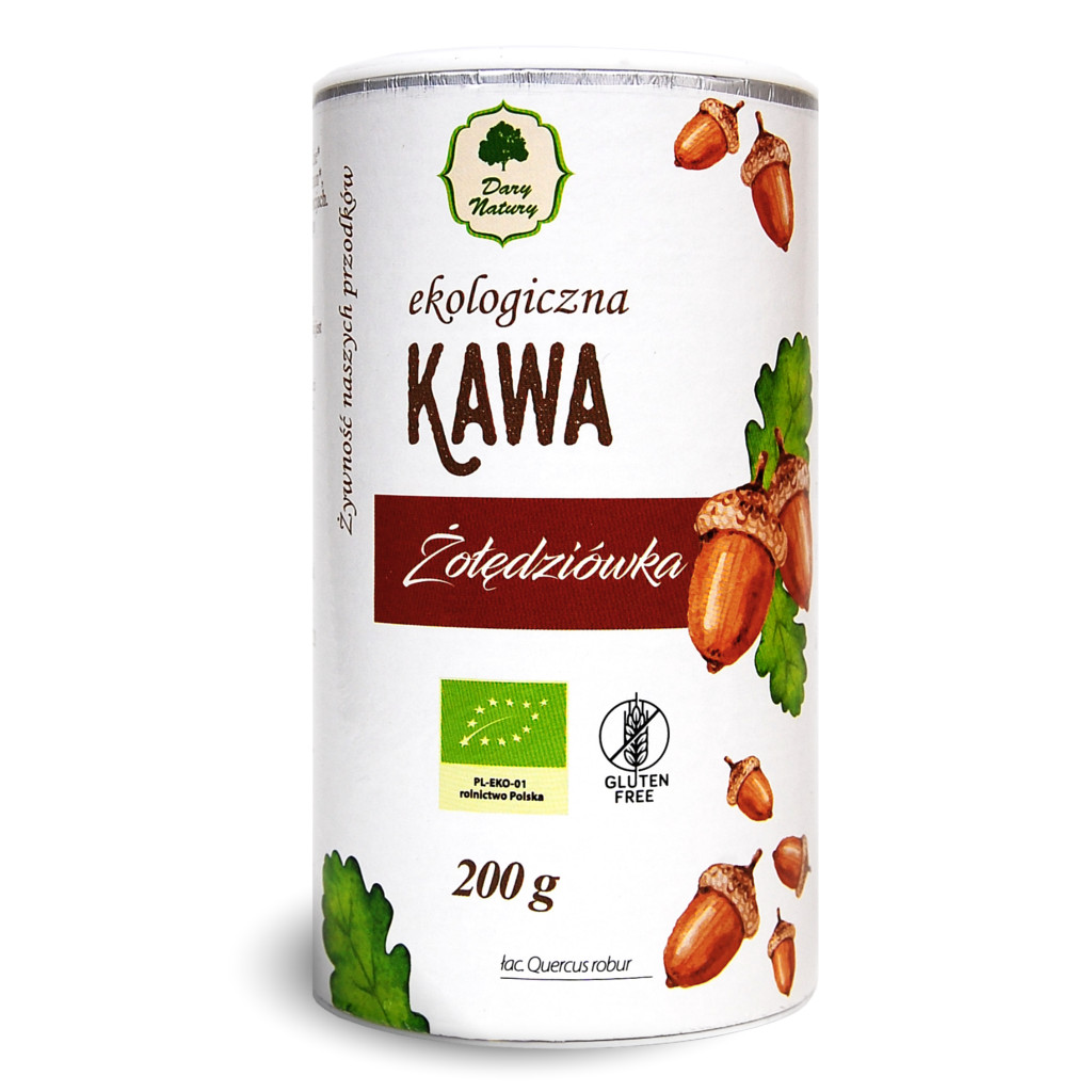 ЭКО-напиток Kawa из жареных желудей, туба, 200 г цена в Москве и Питере
