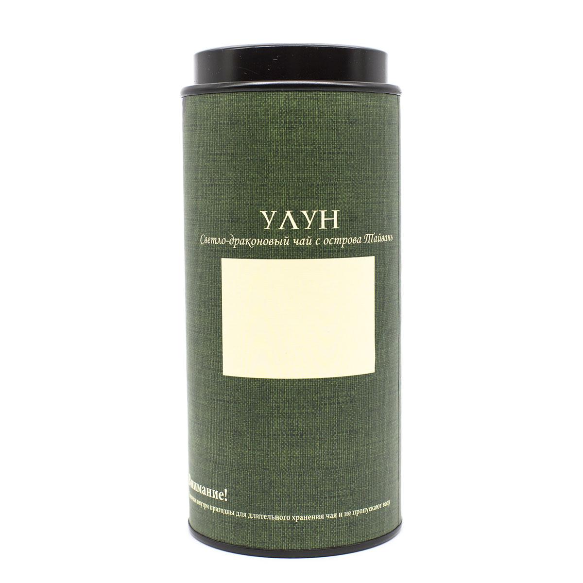 Банка картонная Мелодия неба - Улун тайваньский 76*145 maitre de the женьшень улун зеленый листовой чай 150 г жестяная банка