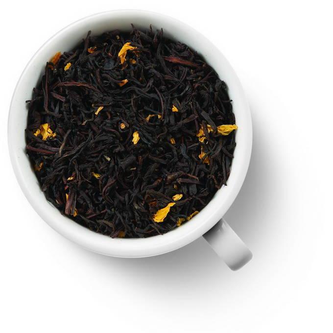 Черный ароматизированный чай Маракуйя в шоколаде