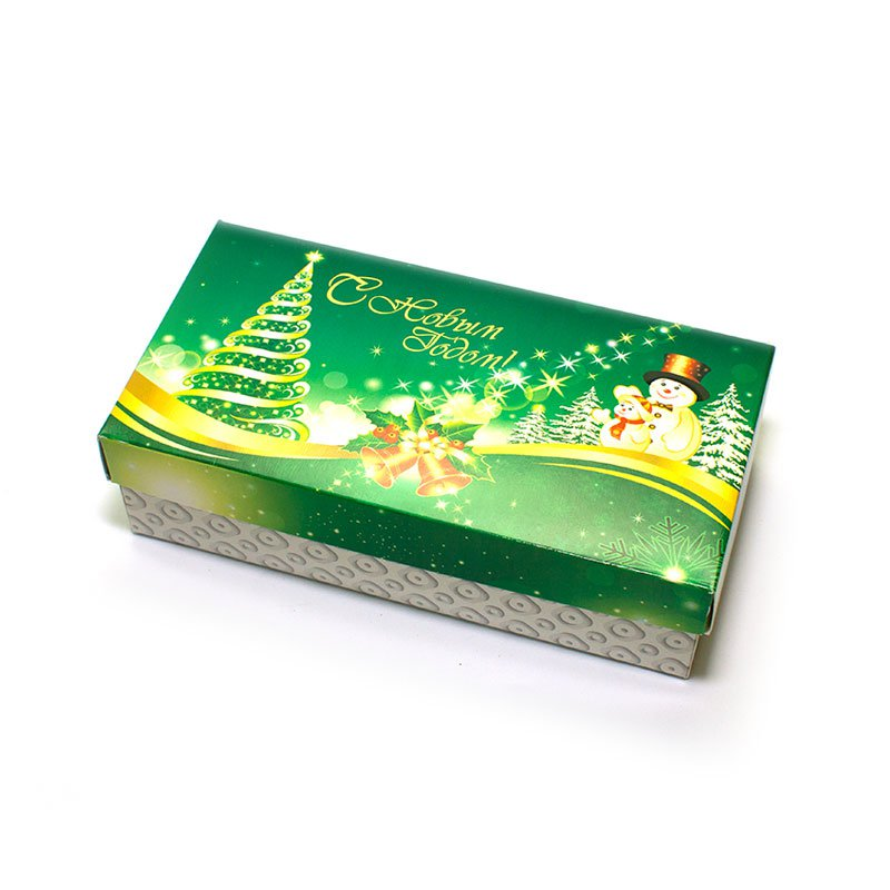 "Коробка подарочная ""С Новым Годом!"" (вар.3), 20х10х5,5 см"