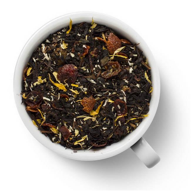 Черный ароматизированный чай Медовый