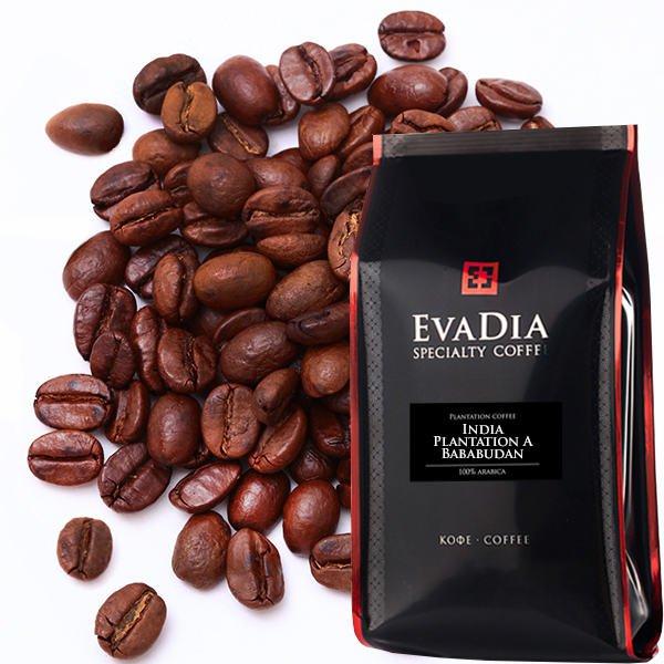Кофе в зернах EvaDia Индия Арабика Плантейшн А Бабабудан, 500 г