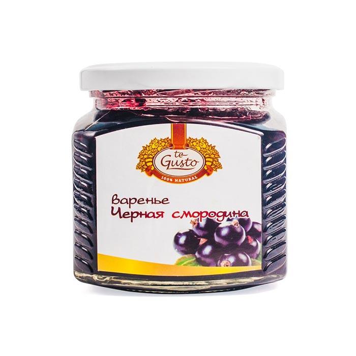Варенье из черной смородины Te-Gusto, 470 г