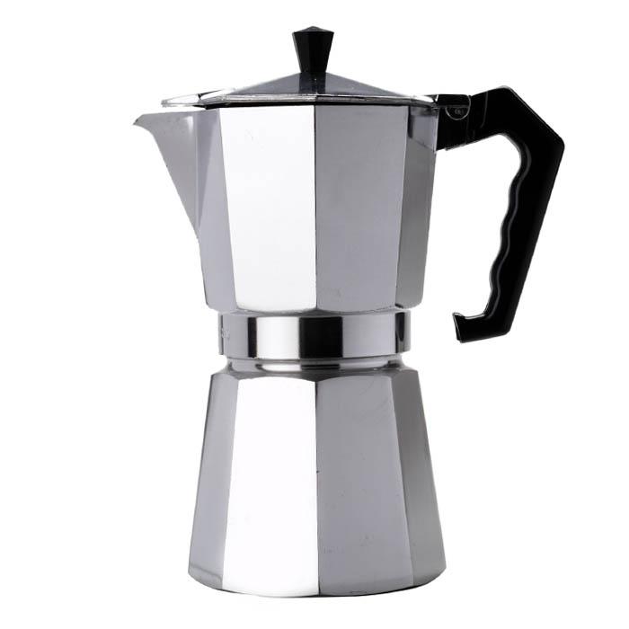 Гейзерная кофеварка алюминиевая, 300 мл от 101 Чай