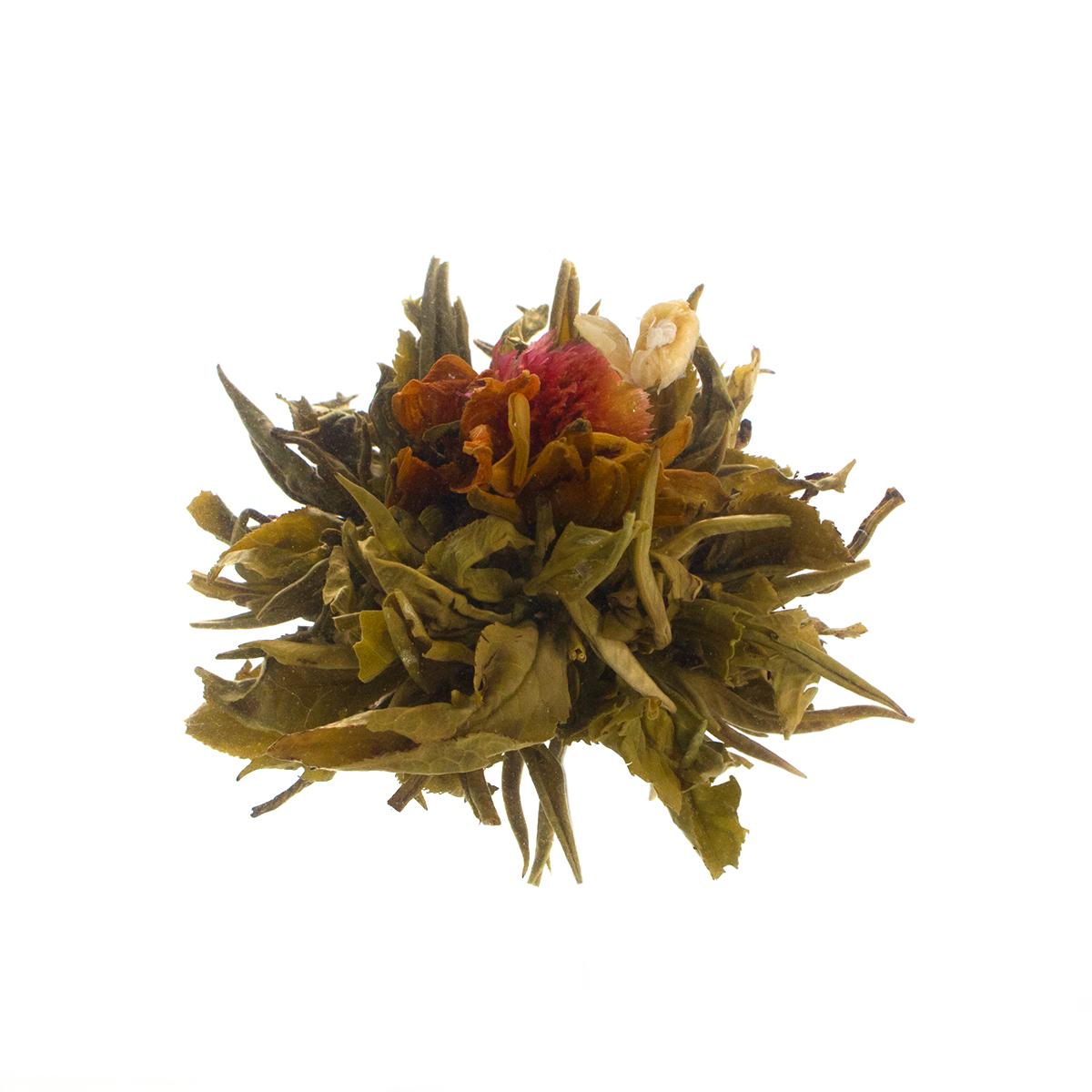 Связанный чай Священный плод с жасмином и ароматом кокосового молока в инд. упаковке от 101 Чай