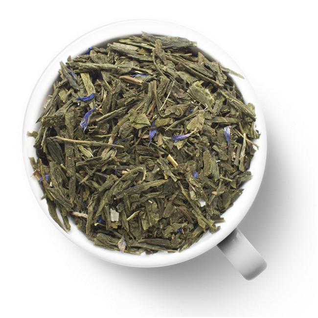 Зеленый ароматизированный чай Бодрящая свежесть