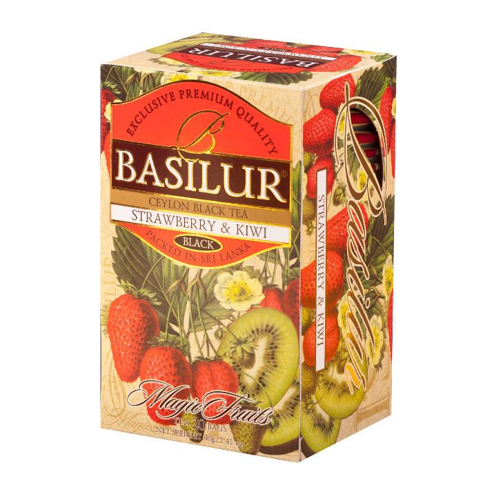 Черный чай Basilur Волшебные фрукты