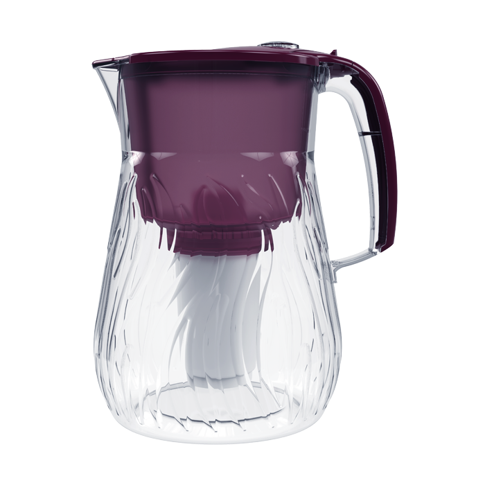 Фильтр-кувшин Аквафор Орлеан, вишнёвый фильтр сверхтонкой очистки fibos фибос премиум