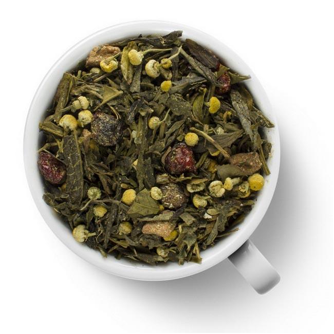 Зеленый ароматизированный чай Русская красавица