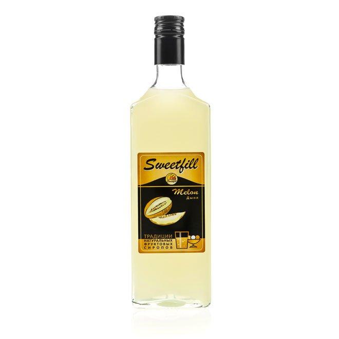 Сироп SweetFill Дыня, 0,5 л
