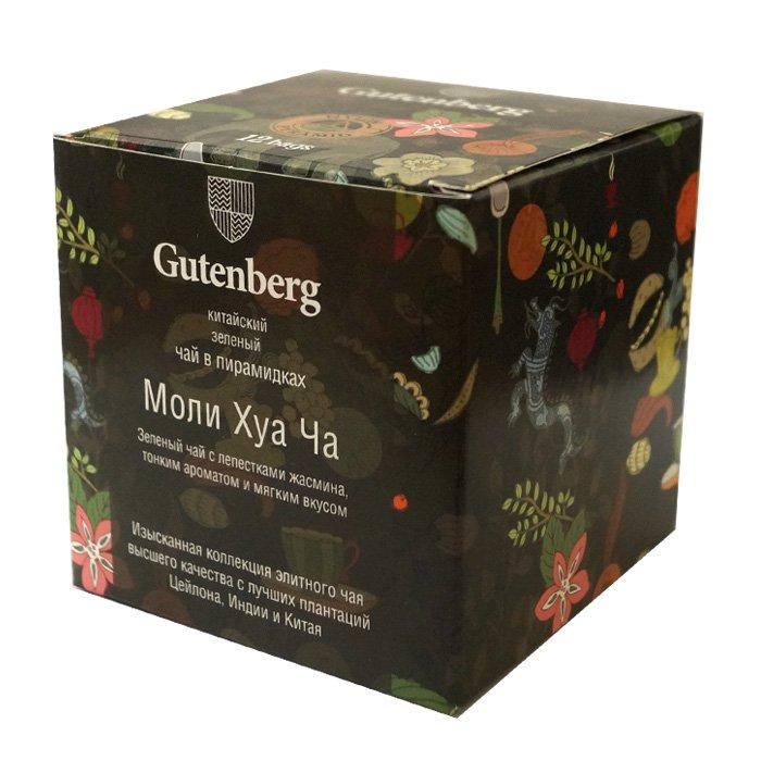 Пакетированный чай Моли Хуа Ча в пирамидках (12 шт.) чай листовой первая чайная компания хуа чжу ча с жасмином зеленый 100 г