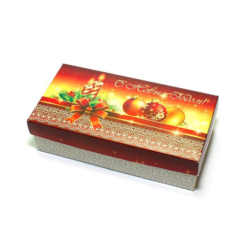 "Коробка подарочная ""С Новым Годом!"" (вар.1), 20х10х5,5 см"